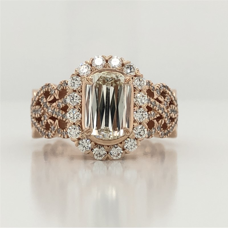 Diamond Engagement Ring by Christopher Designs